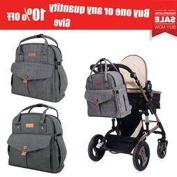 ALLCAMP Baby Diaper Bag Backpack Large Capacity Travel Tote