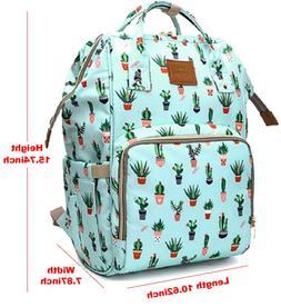Baby Diaper Bag Backpack, Waterproof Nappy Bags Travel Gear,