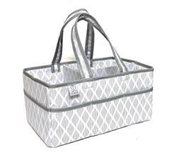 Large Baby Diaper Caddy Organizer-Nursery Storage Bin for Ch