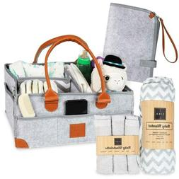 Baby Diaper Caddy - Organizer - Baby Registry Must Haves!