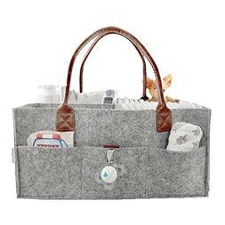Baby Diaper Caddy Organizer Comfy Carry Nursery Bin – Unis