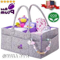 Baby Diaper Caddy Organizer for Boy and Girl Travel Portable