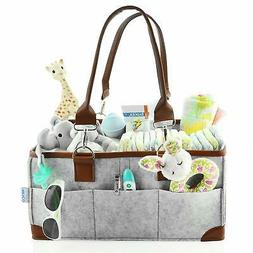 Baby Diaper Caddy Organizer - Portable Storage Basket - Esse