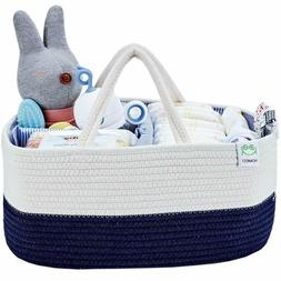 HOMEST Baby Diaper Caddy Organizer, Travel Large Tote Nurser