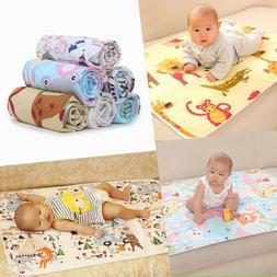 Baby Diaper Changing Pad Waterproof Mat Mattress Protector P