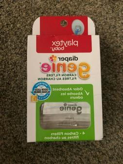 Playtex Baby Diaper Genie Carbon Filters 4 packs of 4 = 12 t