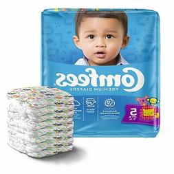 Comfees Baby Diaper Size 5 Over 27 lbs. 41541 108 /Case