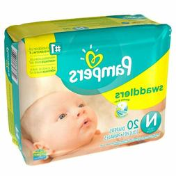 Baby Diaper Pampers® Swaddlers™ Tab Closure Newborn Dispo