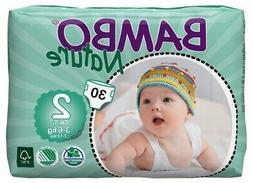 Bambo Nature Baby Diapers Classic, Size 2 , 30 Count