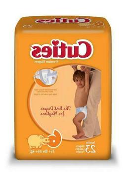 Cuties Baby Diapers, Size 6, Pack of 23, CR6001