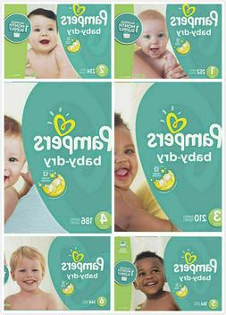Pampers Baby Diapers Size N, 2, 3, 4, 6 CHEAP!!!