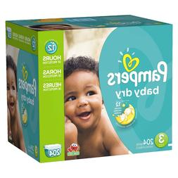 Pampers Baby Dry Diapers M -8PK of 34CT **BULK 272 Count**