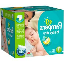 Pampers Baby Dry Diapers  Size 1  *Free Priority 2 day Ship