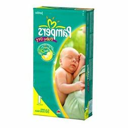 Pampers Baby Dry Diapers, Jumbo Pack, Size 1, 50 Count