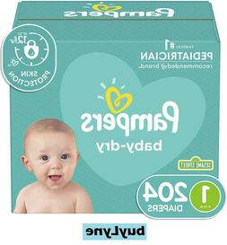 Pampers Baby Dry Diapers - Size 1  **buyLyne**