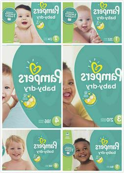 Pampers Baby Dry Diapers Size 2, 3, 4, 5 CHEAP!!!