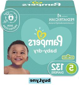 Pampers Baby Dry Diapers Size 5 132 Count