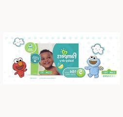 PAMPERS BABY DRY DISPOSABLE BABY DIAPER SIZE 5, 164 COUNT, O
