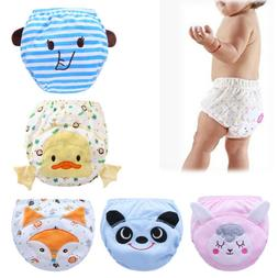 Baby Infants Toilet Pee Potty Training Cloth Diaper Underwea