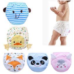 Baby Infants Toilet Pee Potty Training Cloth Diaper Underwea