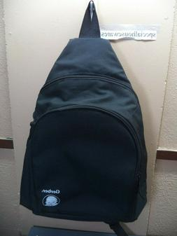 Gerber Baby Item Carry Backpack Black Nylon Many Pockets VGC