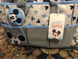 Disney Baby Mickey Mouse 4 pcs Diaper Bag, Bottle & Pacifier