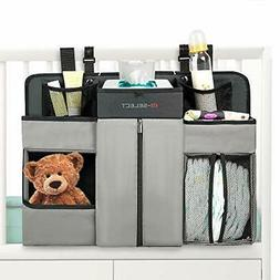 Baby Nursery Diaper Organizer - Hanging Caddy Accessory Orga