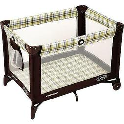 Baby Playard Travel Playpen Bassinet Crib Diaper Changer Fol