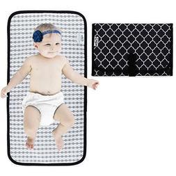 Baby Portable Changing Pad, Diaper Bag, Travel Mat Station,