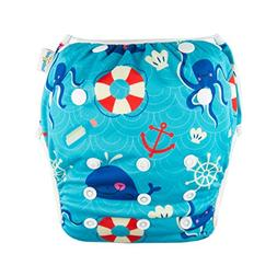 babygoal Baby Reusable Swim Diaper, Washable and Adjustable