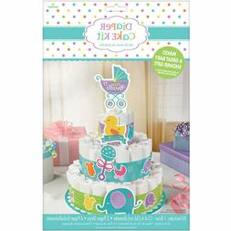 Baby Shower Diaper Cake Kit -Baby Buggy Theme -Great for Bab