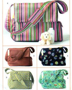 NEW Butterick 4560 Baby Toddler Organizer Diaper Bag Toys To
