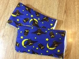 Bat Burp cloths baby girl thick 6 ply Gerber cloth diaper ad