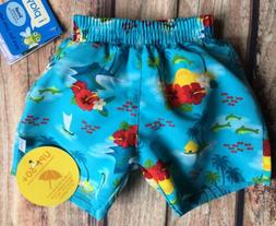 Bathing Suit size 6 months New Nwt Diaper Boys swimwear baby
