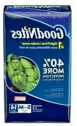 GoodNites Bedtime Underwear Marvel Boys S/M 14 CT