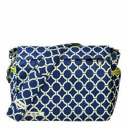 Better Be Messenger Diaper Bag in Royal Envy