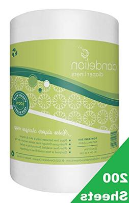 Dandelion Diapers Biodegradable and Flushable Envionmentally