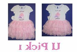 Birthday Dress Tutu My First or Princess Pink White Lace Tul