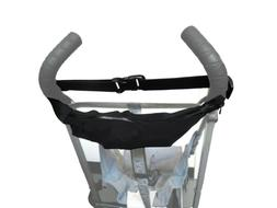 Black Bag Pouch Organizer for Safety 1st Push Chair Diapers