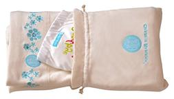 Charlie Banana Blanket Organic Cotton with Diaper Gift Set,