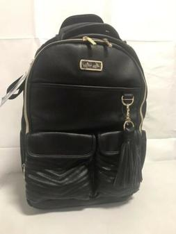 Itzy Ritzy Boss Backpack Diaper Bag - Black Herringbone