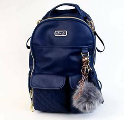 Itzy Ritzy Boutique Exclusive Navy Gingham Boss Diaper Bag B