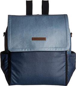 petunia pickle bottom Unisex Boxy Backpack Denim One Size