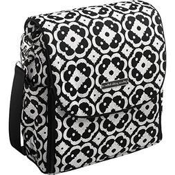 Petunia Pickle Bottom Boxy Backpack Diaper Bag in Licorice B