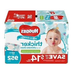 Branded Huggies One & Done Baby Wipes, Scented