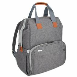 Luxja Breast Pump Diaper Bag Backpack with Compartments for