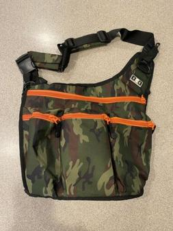 Camouflage Diaper Dude Baby Bag - Excellent