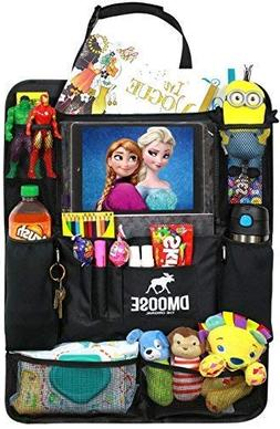 DMoose Car Backseat Organizer with Tablet Holder for Kids an
