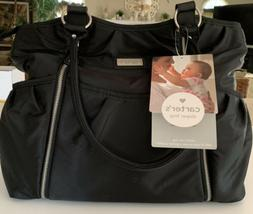 Carters Nylon Diaper Bag Tote With Changing Pad - New With T