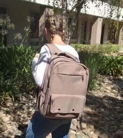 Tan Diaper Backpack,Extra Large w Changing mat,NEW, SHIPPED